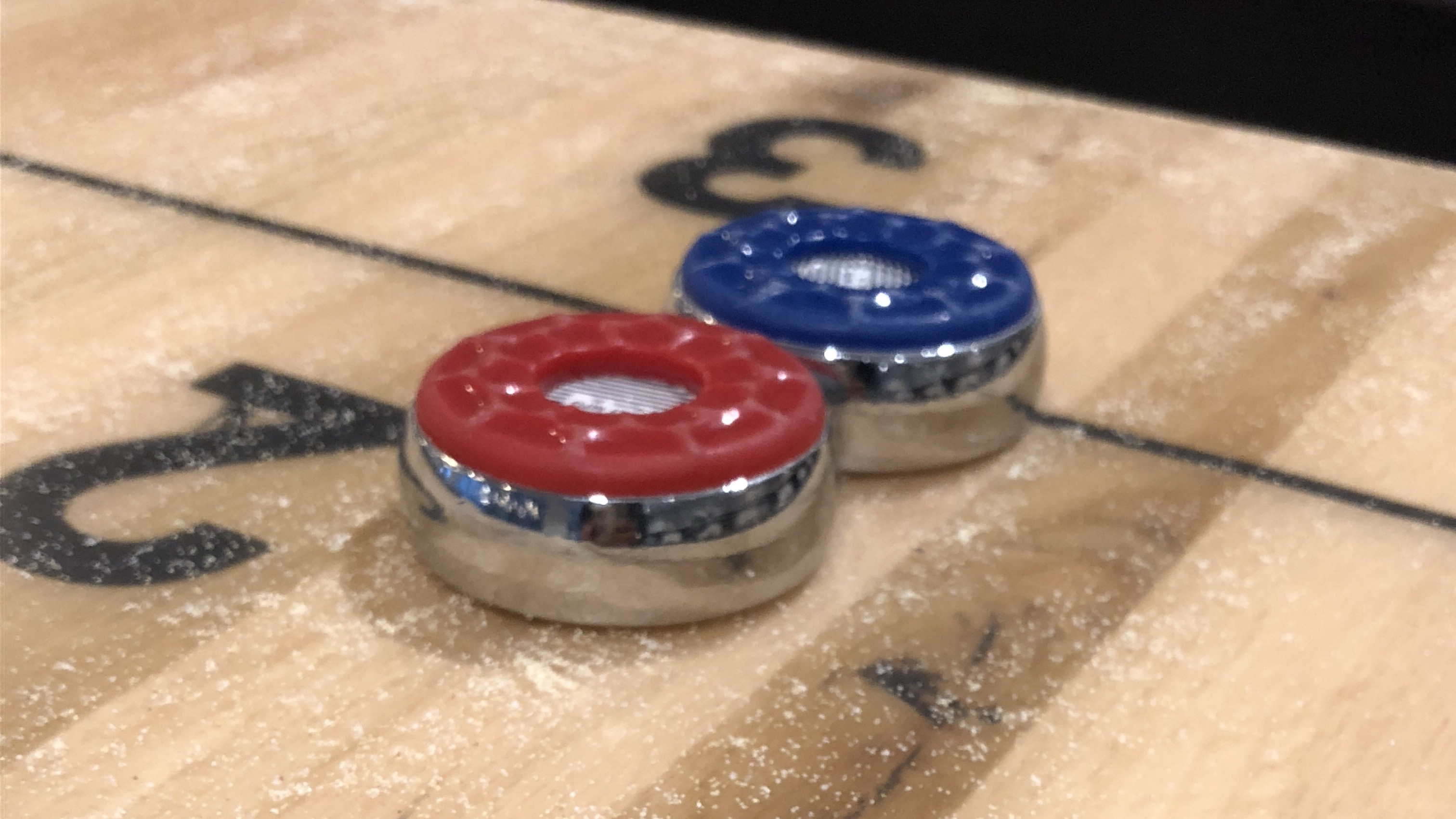 Shuffleboard Weights and Pucks