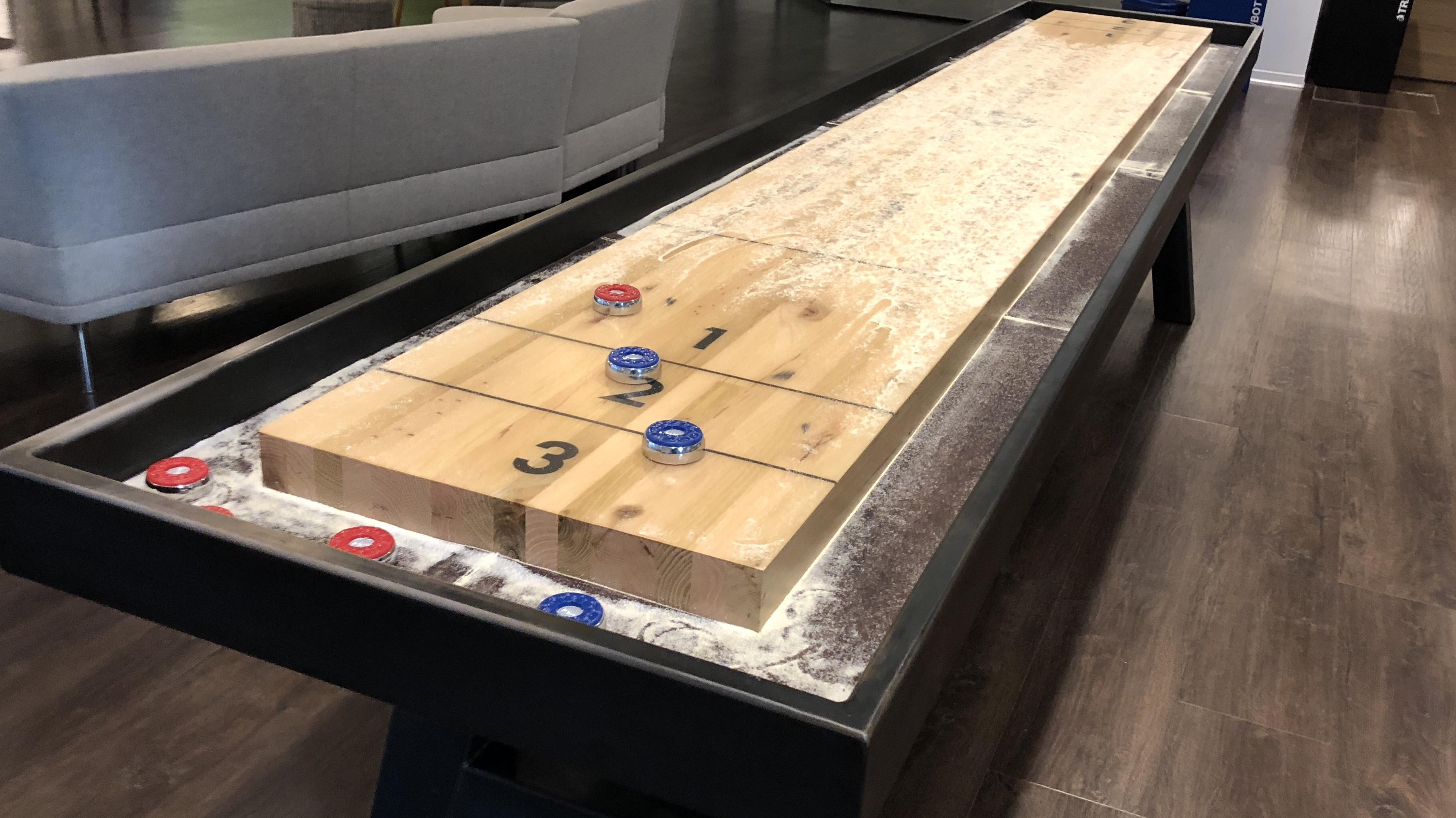 Shuffleboard Dimensions How Long Is A Shuffleboard Table