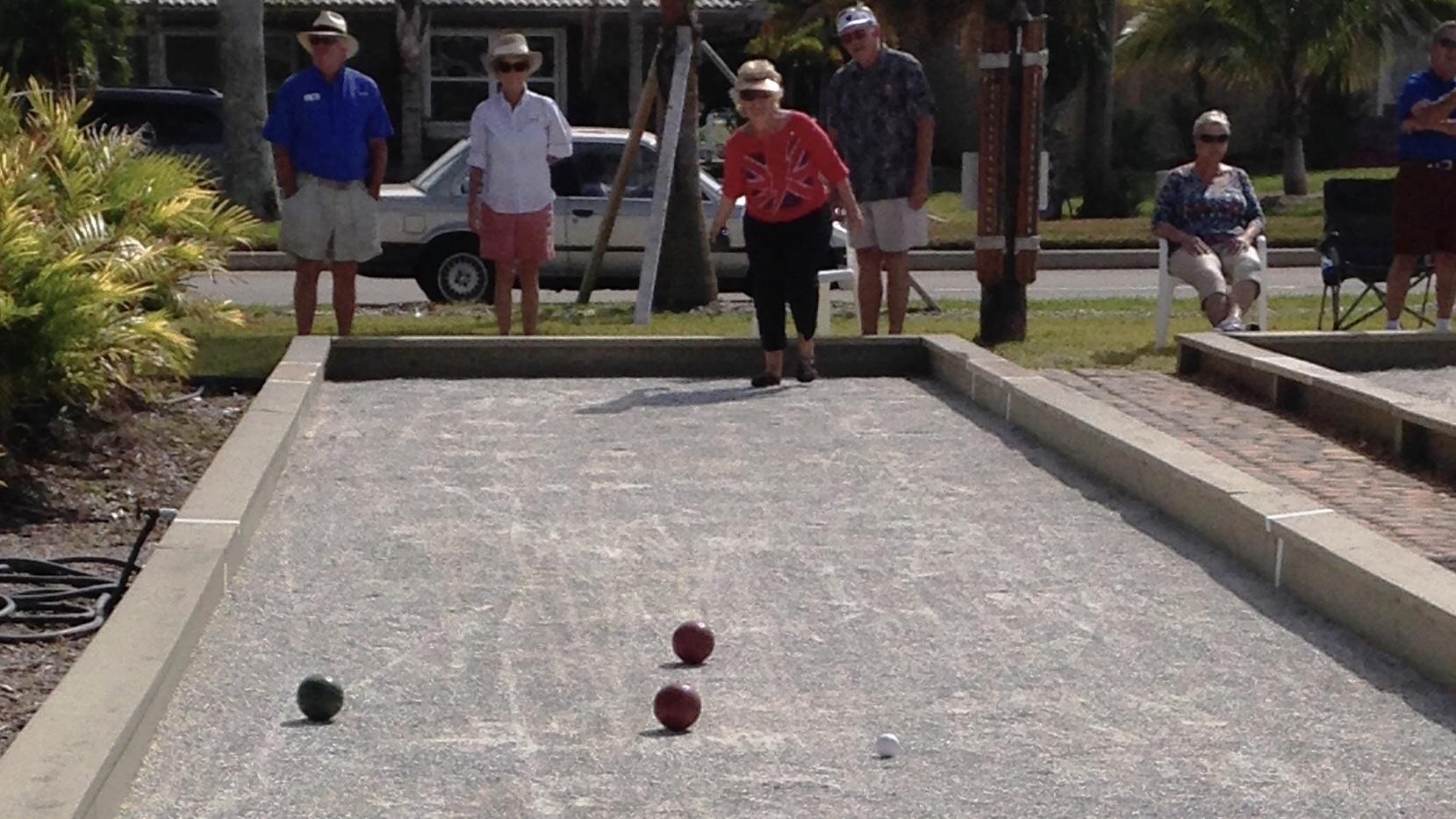 Bocce Ball Bowling