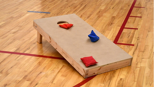 cornhole board plain