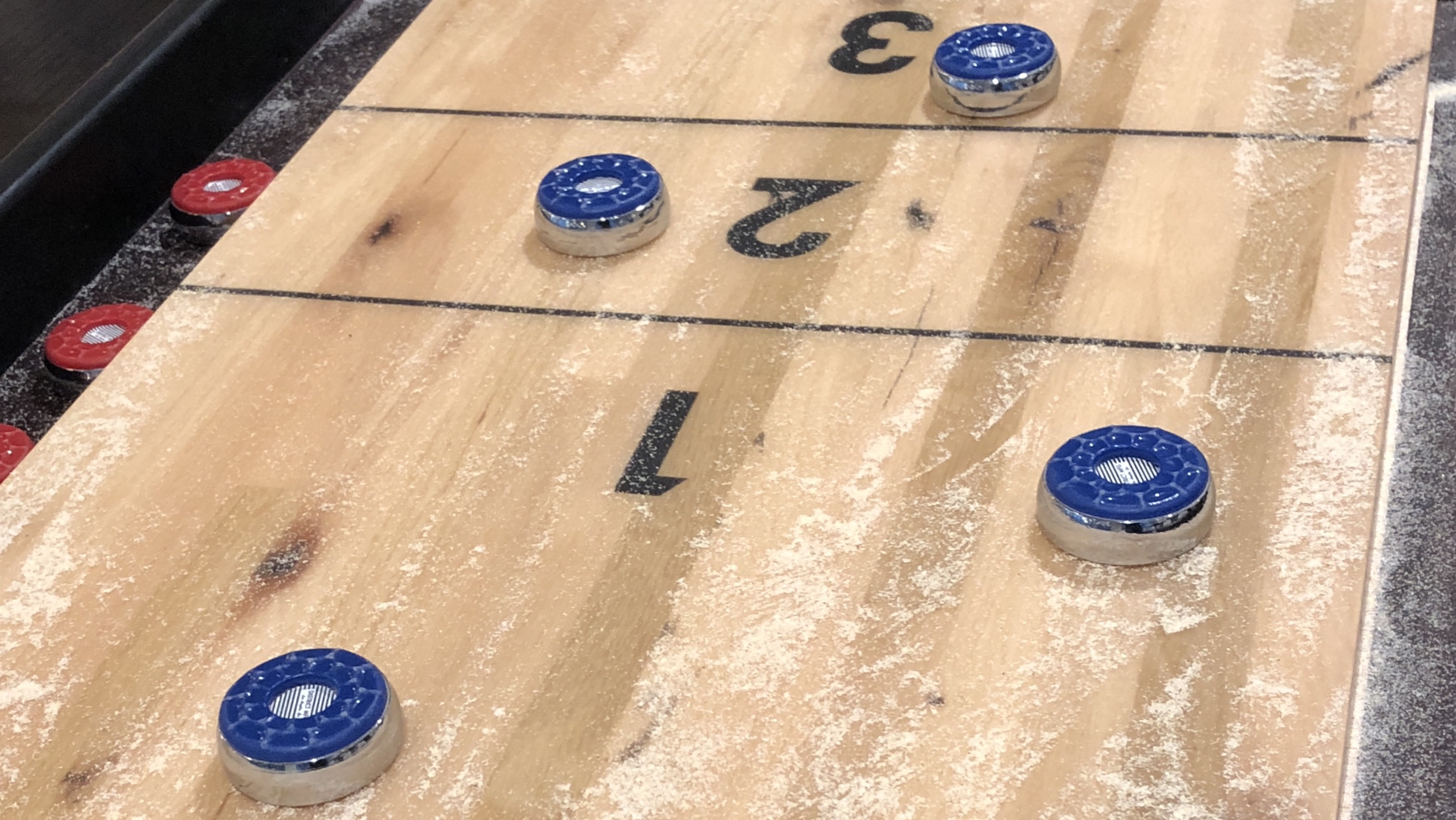 Shuffleboard Crazy Eights