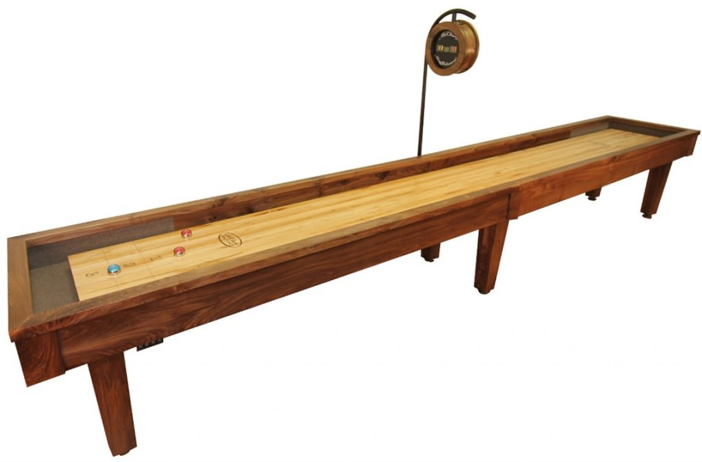 mcclure shuffleboard table