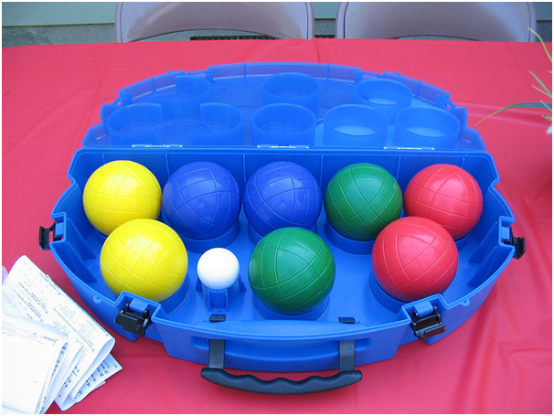 bocce ball colors