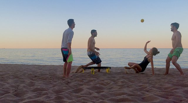 history of spikeball